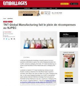 TNT Global Manufacturing fait le plein de récompenses au NJPEC